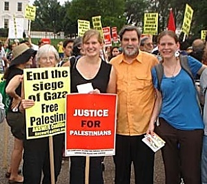 DUMC Palestine demonstration